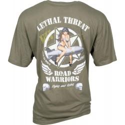 Koszulka LETHAL THREAT Widow Maker dla motocyklisty