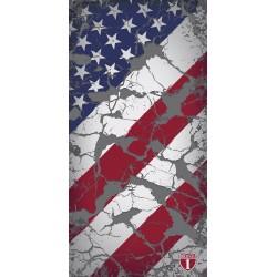 Highway 1 US Flag Vintage Chusta wielofunkcyjna