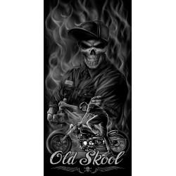 Chusta wielofunkcyjna dla motocyklisty LETHAL THREAT Old Skool