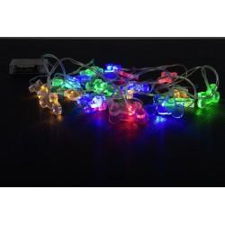 Lampeczki LED w kształcie motocykli LOUIS 3m