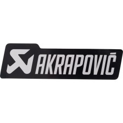 Naklejka dla motocyklisty AKRAPOVIC
