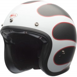 Kask motocyklowy BELL CUSTOM CARBON ACE CAFE TONUP