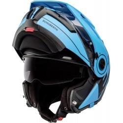 Kask motocyklowy szczękowy SCHUBERTH E1 RADIANT BLUE ENDURO