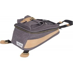 Torba na bak Vintage Canvas Anthracite