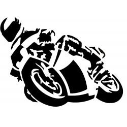 Naklejka MOTORCYCLE