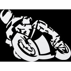 Naklejka MOTORCYCLE dla motocyklisty