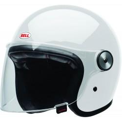 Kask motocyklowy BELL RIOT biały połysk
