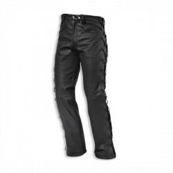 Spodnie skórzane damskie Held Lace czarne