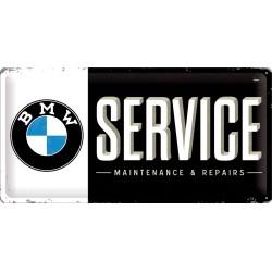 Blaszany szyld dla motocyklisty BMW SERVICE