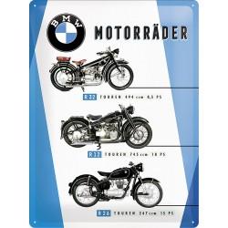"""Blaszany szyld dla motocyklisty BMW """"BIKES"""""""