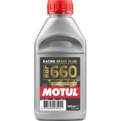 Motul RBF 660 wyścigowy płyn hamulcowy DOT 4 syntetyczny 0,5Litra