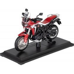 Model motocykla HONDA CRF1000 AFRICA TWIN, skala 1:18