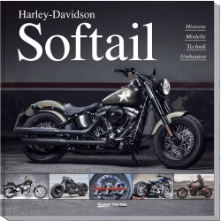 Książka Harley Davidson Softail, język niemiecki