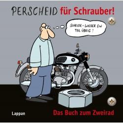 """Komiks """"Perscheid für Schrauber!"""", język niemiecki"""
