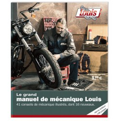 Książka Louis Manuel de Mécanique, wersja francuzka