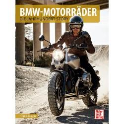Książka BMW Motorcycles - Story of the Century, język niemiecki