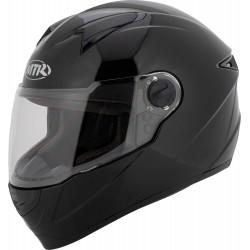 Kask motocyklowy integralny MTR S-5 czarny połysk