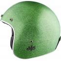 AJS Vintage Jet kask zielony