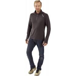 Vanucci męska koszulka z zamkiem błyskawicznym