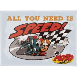 MOTOMANIA Magnes *ALL YOU NEED IS SPEED*