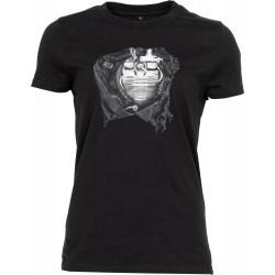 Motorrad im Herzen 2.0 damska koszulka