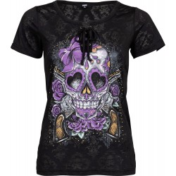 Lethal Angel Sugar Skull koszulka damska