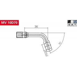 TRW Vario MV10D70 Połączenia śrubowe