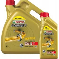 Castrol Power1 4T Olej silnikowy mineralny 20W-50