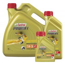 Castrol Power1 4T Olej silnikowy HC syntetyczny 15W-50