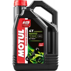 Motul 5000 4T SAE 10W-40 olej pół-syntetyczny Louis Special Edition
