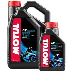 Motul 3000 4T 10W-40 olej mineralny  SAE 10W-40