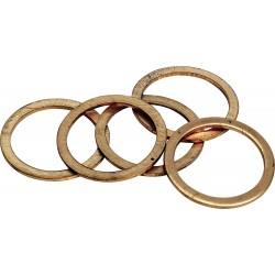 Miedziany pierścień uszczelniający