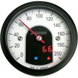 Prędkościomierz analogowy z funkcją obrotomierza CLASSIC MOTOGADGET