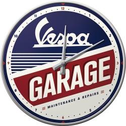 Zegar ścienny Vespa Garage