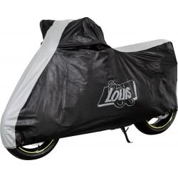 Pokrowiec motocyklowy LOUIS Czarno-szary