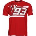 Marc Marquez 93-Koszulka dla motocyklisty