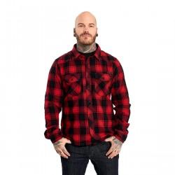 BRANDIT koszula dla motocyklisty w kratę