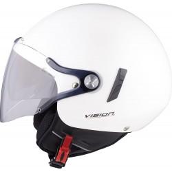 NEXX X60 VISION FLEX 2 JETHELM biały kask motocyklowy otwarty