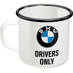 BMW - Kubek emaliowany BMW Drivers Only