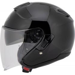 SHOEI J-CRUISE kask motocyklowy otwarty czarny połysk