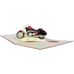 LOUIS - Motocyklowa kartka upominkowa 3D LOUIS
