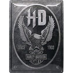 HARLEY-DAVIDSON - Metalowy szyld HARLEY-DAVIDSON EAGLE