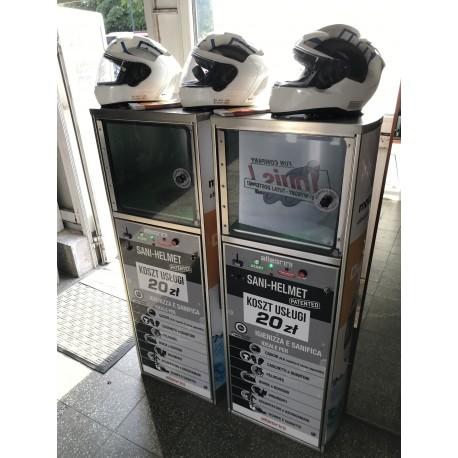 Usługa czyszczenia kasku w maszynie SANI-HELMET
