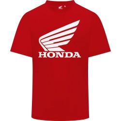 Honda koszulka motocyklowa skrzydło