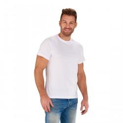 Koszulka motocyklowa dwupak T-SHITR BASIC  biały, dwupak