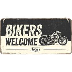 "Blaszany szyld dla motocyklisty HARLEY DAVIDSON LOGO ""750 Flathead"""