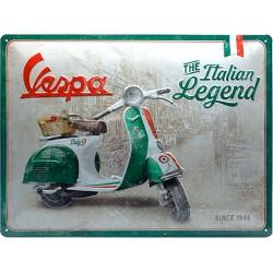 Szyld Retro Vespa Włoski Wymiary: 40 x 30 cm