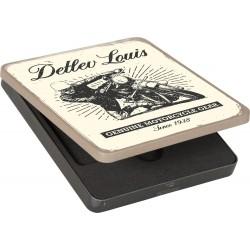 Metalowe pudełko upominkowe Louis na kupony