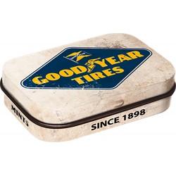 Pudełka Goodyear Obejmuje drażetki z mięty pieprzowej 60 x 40 x 16 mm