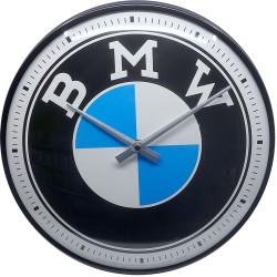 Zegar ścienny retro Logo BMW Średnica: 31 cm